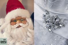 Christmas Wedding Details. Weddings at Tulfarris Hotel Photographed by Couple Photography.