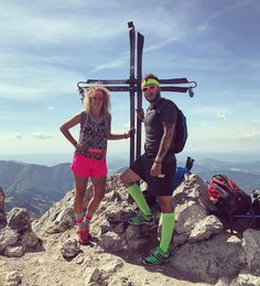 Maly a Velky #rozsutec  #hike #adventure #hiking #mountain #mountains #fitness #couple #couplegoals #nature #sky #scenery #beautiful #photooftheday #fit #run #running #nike #happy #tattoo #tattoosleeve #tattoos #starwars #music @emmi_mini