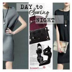 """Spring Day to Night"" by ansev ❤ liked on Polyvore featuring Balmain and sammydress"