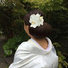和装 ヘアスタイル japanese wedding kimono  hair style