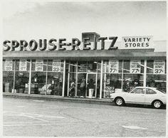Sprouse-Reitz - where I bought the yarn to make my purple legwarmers in 6th grade