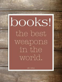 books the best weapons in the world.