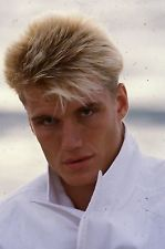 SS2-8 80's HOT & SEXY ACTOR DOLPH LUNDGREN lot of (3) 35mm orig color slides