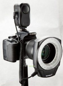 If you hate using an on camera flash and are into Portraits or Macro this is a brilliant piece of kit. Continous LED Lighting. NEEWER® Macro Ring LED Light - Works with Canon/Sony/Nikon/Sigma lenses  #Camera_Flash