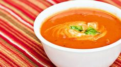 Sunny's Chunky Tomato Cream Soup  ~ Learn how to make Sunny Anderson's delicious chunky tomato cream soup ~ http://www.thenateshow.com/howto/detail/sunnys-chunky-tomato-soup