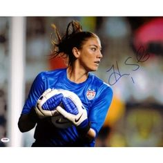 Hope Solo Team USA Soccer World Cup