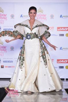 Bb Pilipinas 2017 Top 10 national costumes revealed - Missosology Philippines Outfit, Philippines Fashion, Philippines People, Modern Filipiniana Gown, Fantasy Dress, Fantasy Outfits, Filipino Fashion, Couture Dresses, All About Fashion