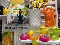 Dancing Teapots for spring