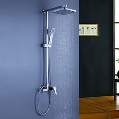 Shower Tap Contemporary Rain Shower / Handshower Included Brass Chrome
