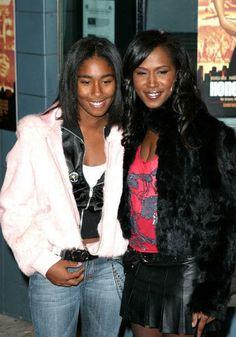 Tweet & her daughter