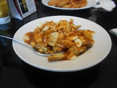 Dunn's Famous 827 Seymour St. Snack Recipes, Snacks, Poutine, Vancouver, Macaroni And Cheese, Chips, Ethnic Recipes, Food, Snack Mix Recipes