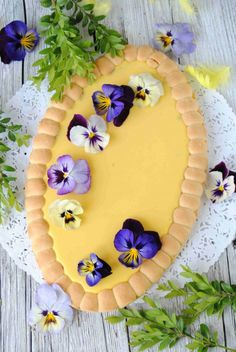 Adwokatowy mazurek. Pudding Cake, Polish Recipes, Easter Recipes, Confectionery, Crafts To Do, Cake Cookies, My Favorite Food, Happy Easter, Food And Drink