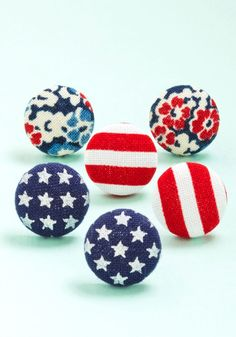 Arty in the USA Earring Set. This festive earring set makes you want to throw a little party! #multi #modcloth