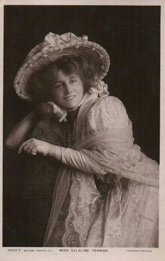Edwardian actress Miss Ellaline Terriss 1907