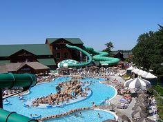 The Wilderness Lodge, Wisconsin Dells... Only place to stay!   Largest indoor/outdoor waterpark resort in US.