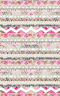 ~floral, triangle, linear design~