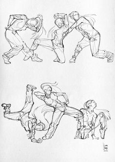 Hi everyone! Here are some anatomical studies (classic dance, hip hop dance and pole dance) and some moleskine sketches. (I ♥ Moleskine) ...