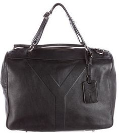 Yves Saint Laurent Leather Y Handle Bag