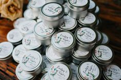 Handmade candle wedding favors customized with the couples name and wedding date Candle Wedding Favors, Orlando Wedding Photographer, Handmade Candles, Vintage Decor, Couples, Photography, Outdoor, Outdoors, Photograph
