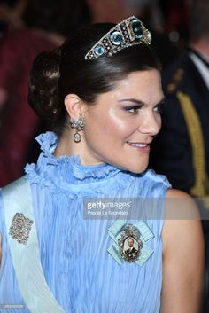 News Photo : Crown Princess Victoria of Sweden attends the...