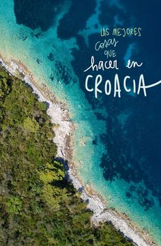 Las 25 mejores cosas que ver y hacer en Croacia Places To Travel, Places To Visit, Beach Hacks, Croatia Travel, Beach Trip, Beach Travel, Travel Aesthetic, Travel Goals, Travel Guides