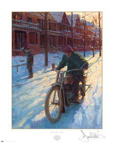 """""""Snow Day"""" by David Uhl"""
