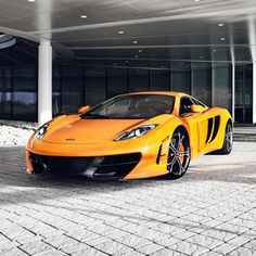 one of five McLaren MP4-12C High Sport