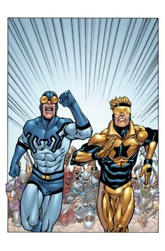 Booster Gold 34a by *DustinYee on deviantART
