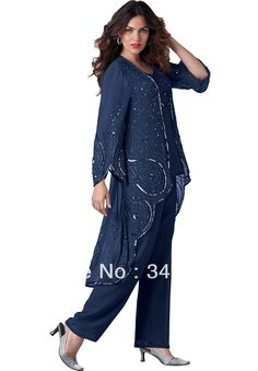 Free Shipping Mother of the Bride Pant Suits with jacket  crystal  Mother of the Bride Dresses  2013 New Fashion 1008 $139.00
