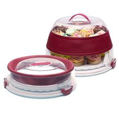 Collapsible Cupcake Carrier now featured on Fab.