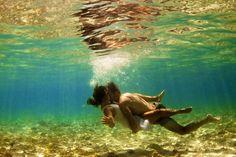 Romance under the sea #photography #love
