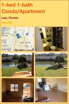 1-bed 1-bath Condo/Apartment in Lutz, Florida ►$39,900 #PropertyForSale #RealEstate #Florida http://florida-magic.com/properties/6547-condo-apartment-for-sale-in-lutz-florida-with-1-bedroom-1-bathroom