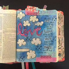 Bible Journaling by Crafting In The Queen City @craftinginthequeencity