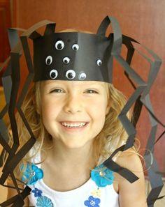 Spider Headband Craft for Halloween or Preschool Spider Theme