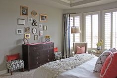 a little of this, a little of that: Master Bedroom {Tour}