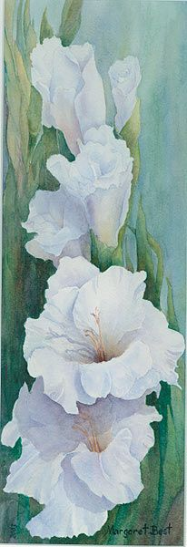 The Botanical Art Society of Australia Acrylic Flowers, Watercolor Flowers, Watercolor Paintings, Watercolor Landscape, Painting Flowers, Watercolors, Fruit Painting, Spring Painting, Watercolor Pictures