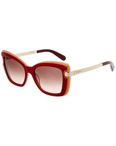 824f61879a1 Rue La La — Salvatore Ferragamo Women s SF814S 54mm Sunglasses Salvatore  Ferragamo