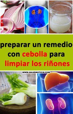PREPARAR UN REMEDIO CON CEBOLLA PARA LIMPIAR LOS RIÑONES #limpieza #rinones #salud #remedios #caseros Cantaloupe, Fruit, Ideas, Food, Onion, Juices, Food Items, Cleaning Tips, Meals