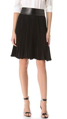 Diane von Furstenberg Panyin Pleated Skirt