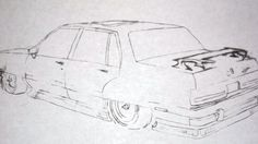 I drew this for brian, when he bought the car, showing him what I thought would look cool on it, because I new he was going to change it up alot. (maybe I went overboard a little???)