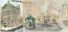 In the course of a year, the artist Elise Engler illustrated two hundred and fifty-odd city blocks.