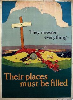 WW I Posters: They Invested Everything