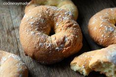 6 recetas de rosquillas y snacks