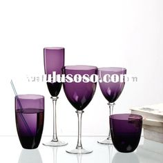 Clear Purple Dinnerware Sets | purple glass dinnerware, purple glass dinnerware Manufacturers in ...