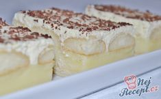 No Bake Cake, Tiramisu, Diy And Crafts, Food And Drink, Pudding, Baking, Ethnic Recipes, Top Recipes, Puddings