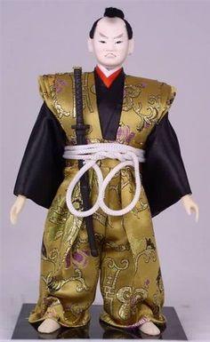 "/""12/""/"" Japanese Samurai Doll ZSRY2013-12/"""