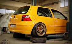 Vw Mk4, Vw Golf Mk4, Volkswagen Golf, Vw Motorsport, 16 V, Vw Cars, Mellow Yellow, Hot Wheels, Audi