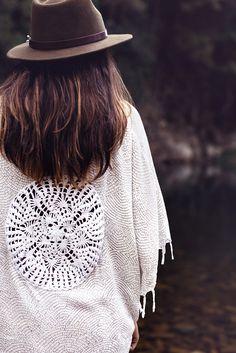 ☮ American Hippie Bohéme ☮ White Boho ☮