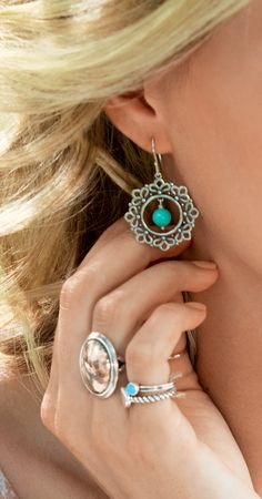 Spring Collection - Let Your Imagination Soar with Mixed Metals and Gemstones #JamesAvery