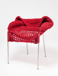 RISD Furniture Design Students Teamed With Textiles Students To Challenge  The Role Of Soft Material In